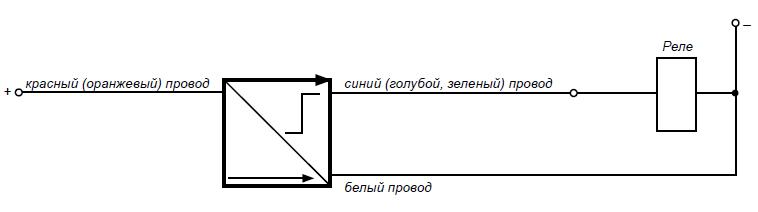 Схема подключения датчиков серии БВК-260